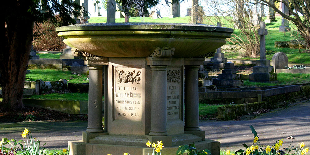 Amble West Cemetery Fountain